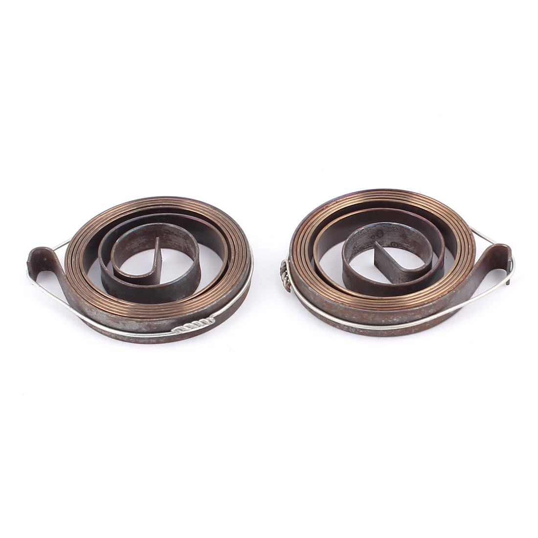 2pcs 34mm x 6mm Drill Press Quill Feed Return Coil Spindle Spring Assembly Tool