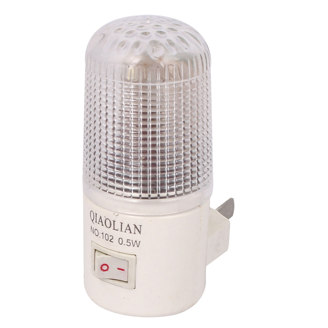0.5W Bedroom Wall Mounting Night Lamp Light Bulb US Plug 110V-250V