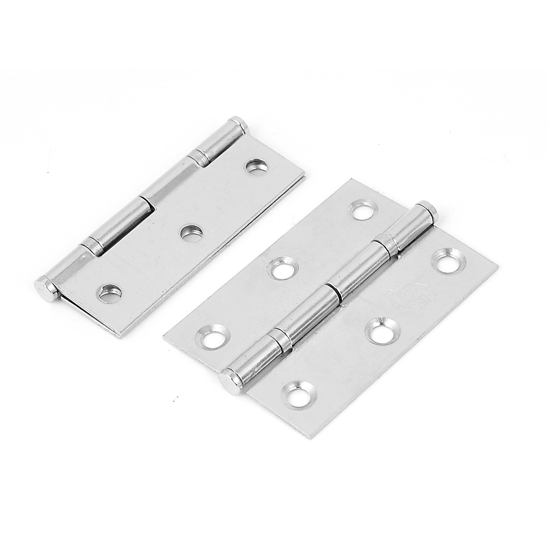 "2.5"" Length Metal Foldable Furniture Door Butt Bearing Hinges Hardware 2pcs"