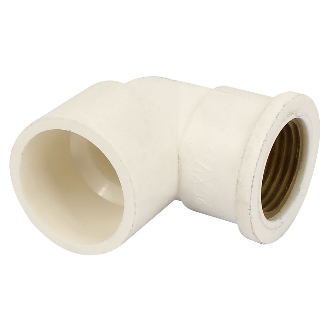 1/2BSP Female Thread 25mm Tube Inner Dia Elbow PVC Pipe Connecting Fitting