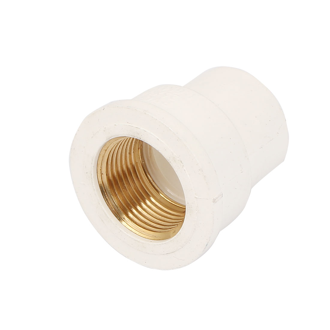3/4BSP Female Thread PVC Straight Pipe Fitting Coupling Adapter Connector