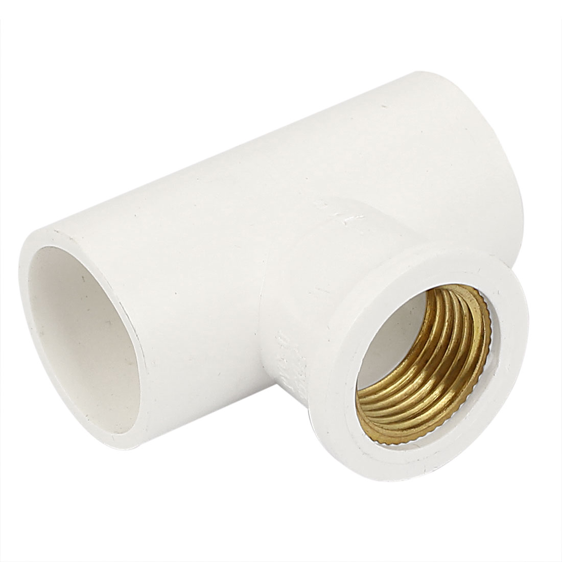 1/2BSP Brass Female Thread 25mm Inner Dia Water Pipe Fitting T Joint Connector