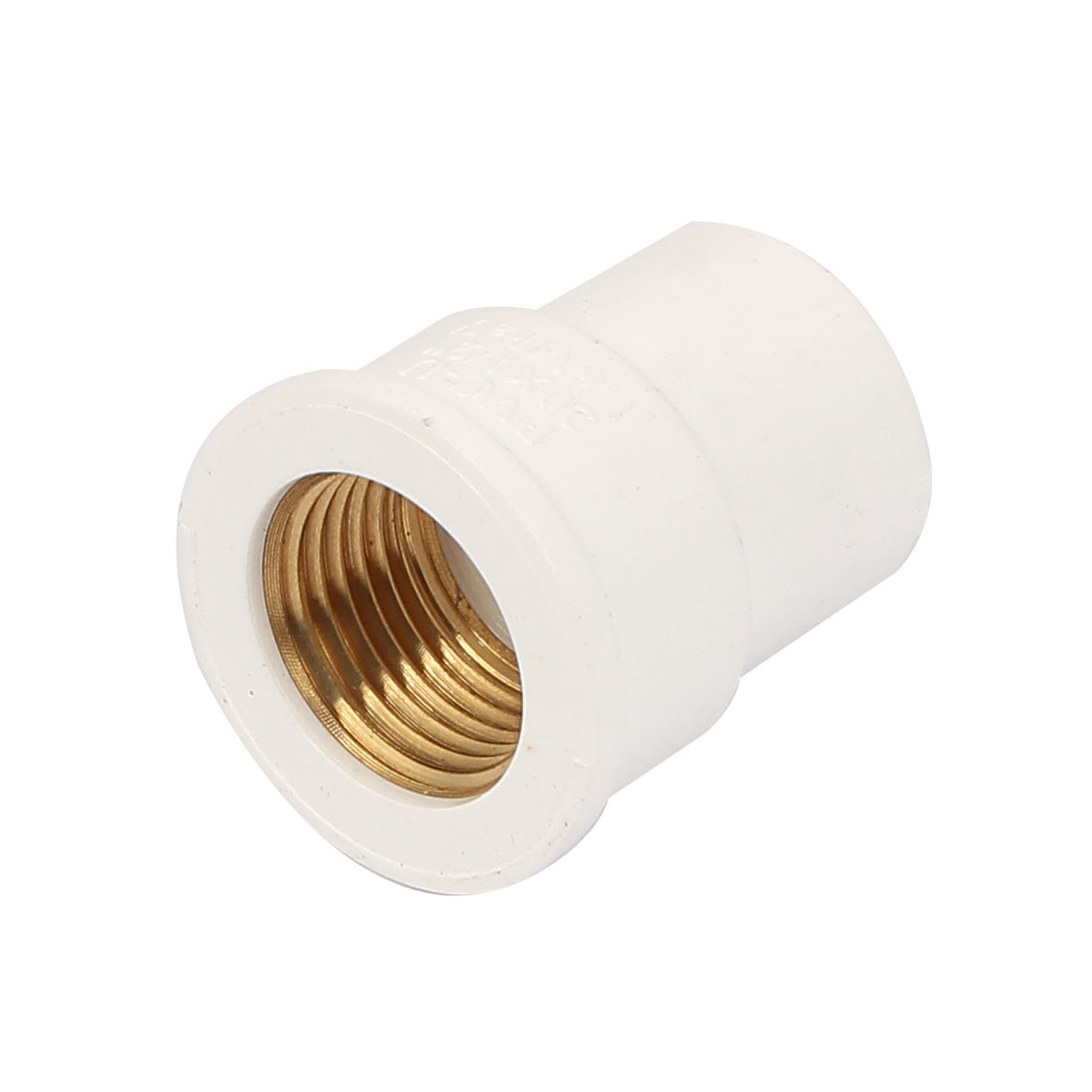 1/2BSP Female Thread PVC Straight Pipe Fitting Coupling Adapter Connector