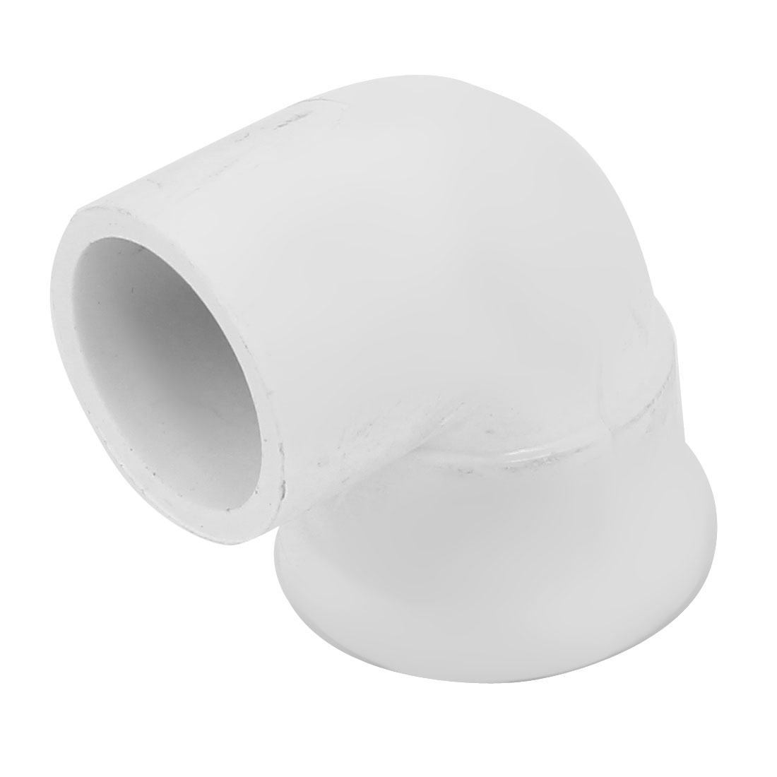 19mm 1/2BSP Female Thread Elbow PVC-U Pipe Tube Connecting Fitting Coupler White