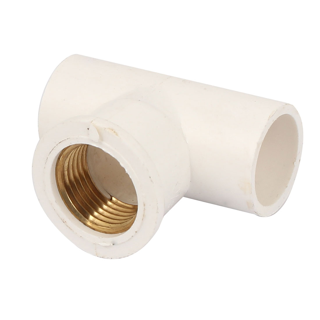 1/2BSP Brass Female Thread 20mm Inner Dia Water Pipe Fitting T Joint Coupler