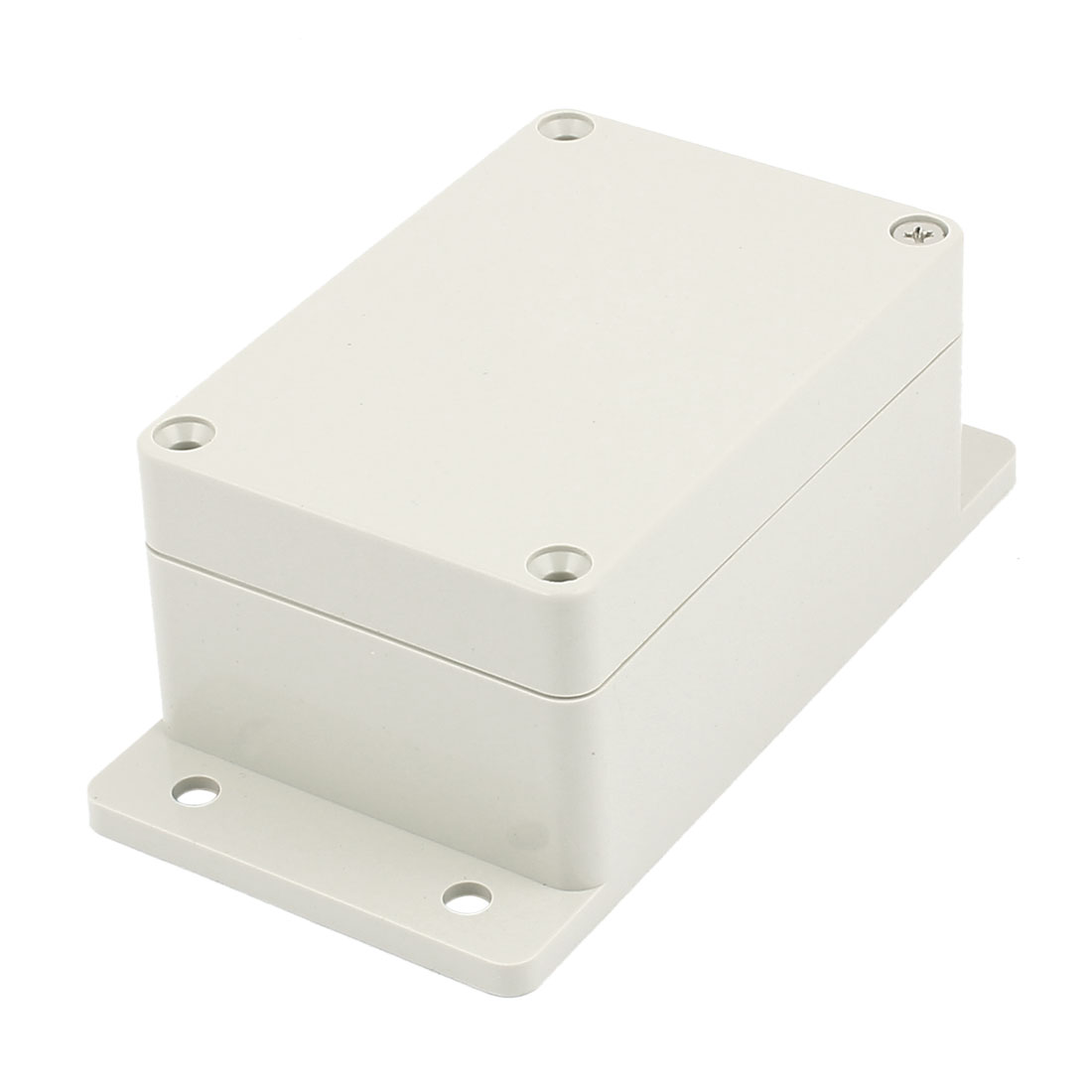 132mm x 69mm x 50mm Plastic Enclosure Case Junction Box Light Gray