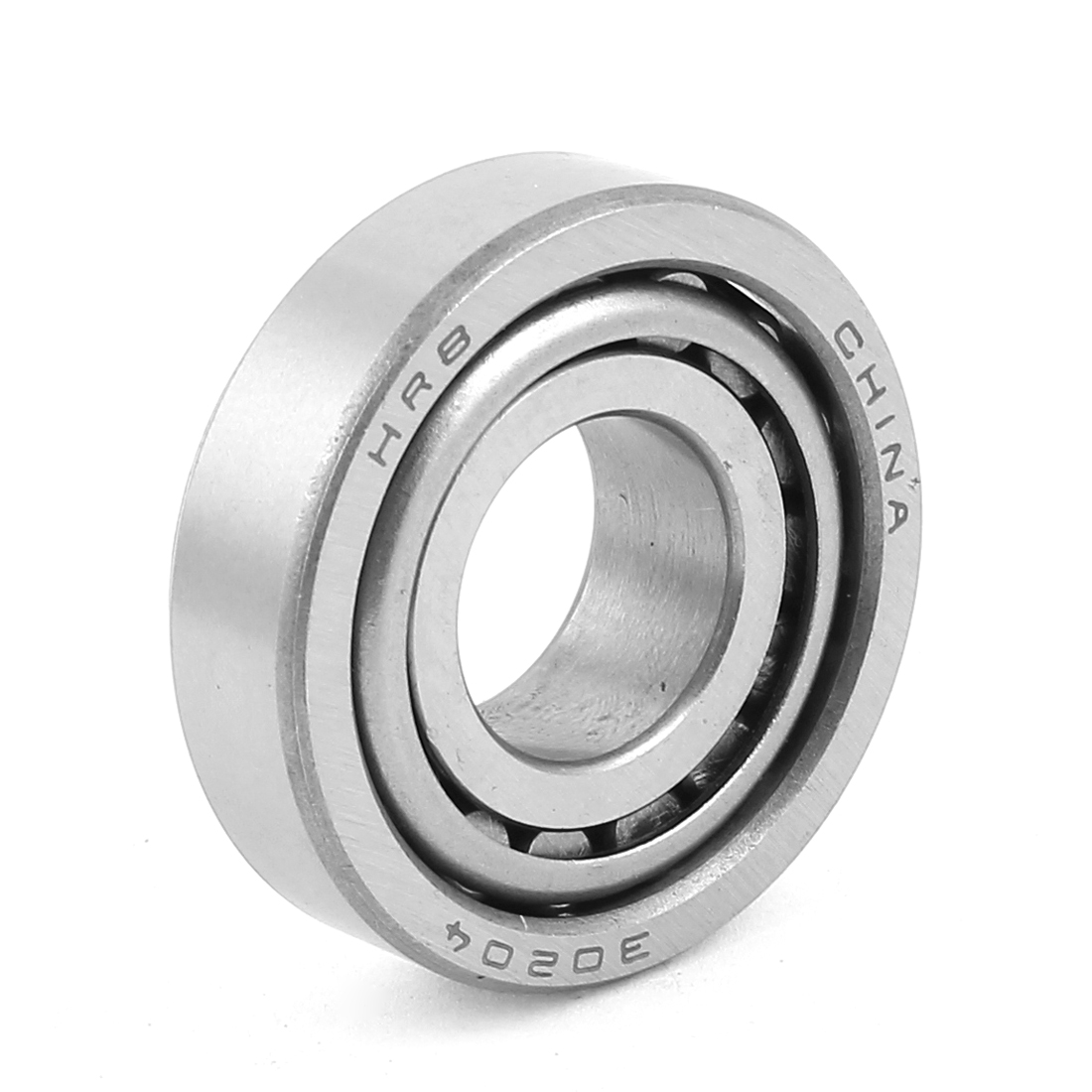 30204 Single Row Metal Tapered Roller Bearing Gray 21mm x 47mm x 15mm