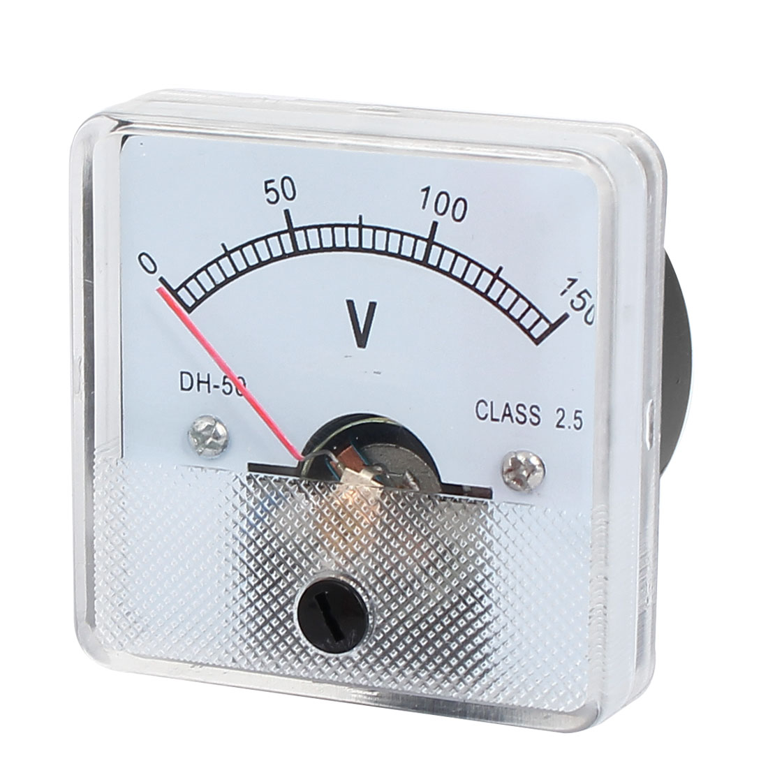 DH-50 DC 0-150V Class 2.5 Accuracy Square Shaped Analog Panel Volt Meter Voltmeter Gauge Voltage