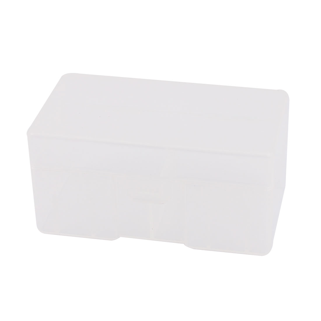 Clear Plastic Rectangle Storage Box Case Container Holder for 12 x 9V Battery