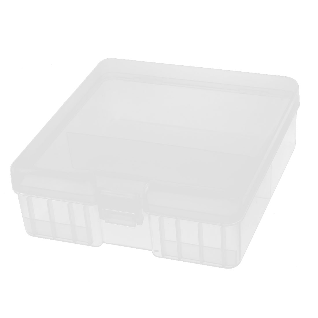 Clear Plastic Storage Box Case Container Organizer Holder for 100 x AA Battery