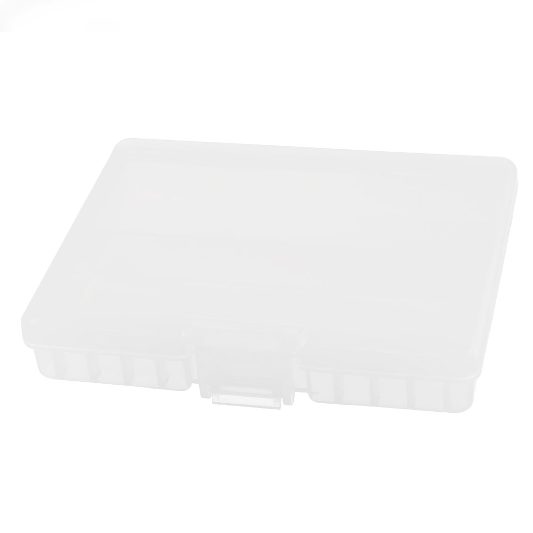 Clear Plastic Storage Box Case Container Holder for 48 x AAA Battery Batteries