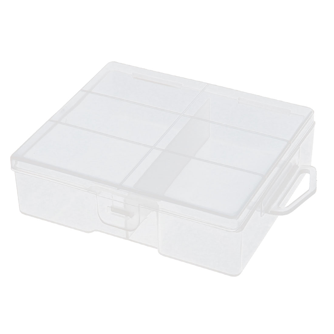 Clear Plastic Storage Box Container Holder Organizer for 24 x AA Battery Batteries