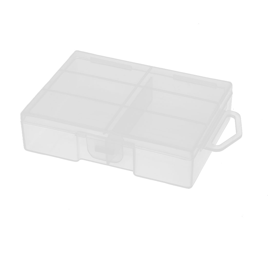 Clear Plastic Rectangle Storage Box Case Container Holder for 24 x AAA Battery