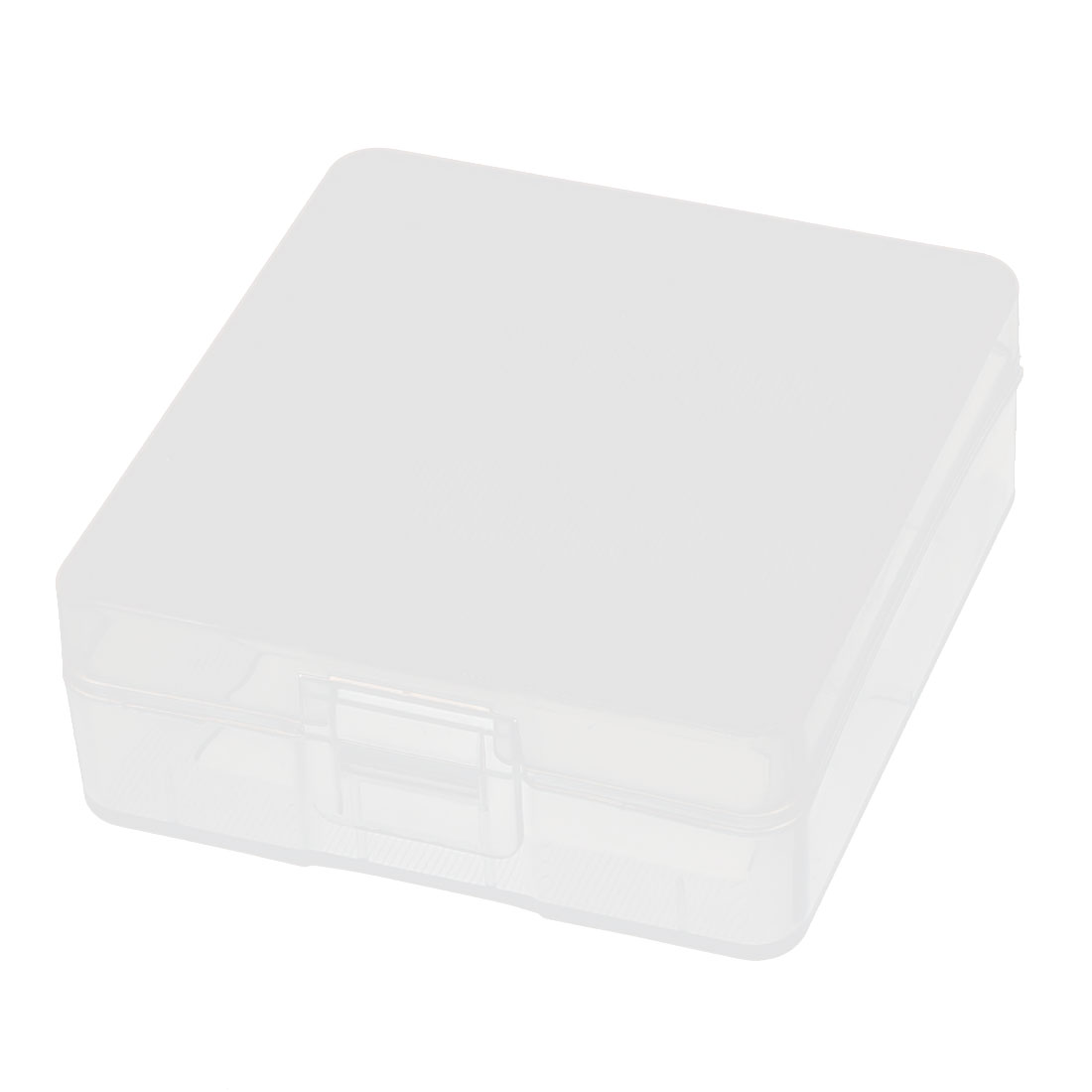 Clear Plastic Storage Box Case Container Holder for 2 x 9V Battery Batteries