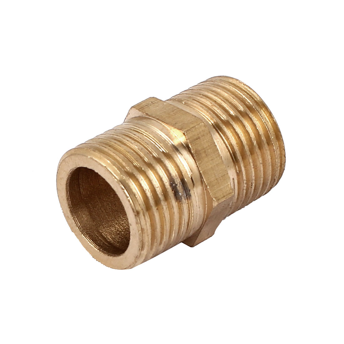 Air Fuel Water Pipe 1/2BSP Male Thread Brass Hex Nipple Fitting 30mm Long