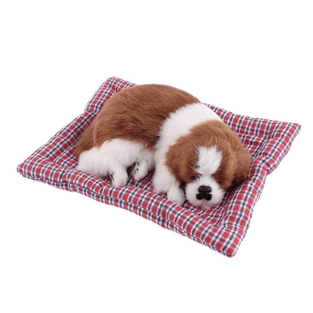 Home Car Simulation Sound Animal Sleeping Dog Ornament
