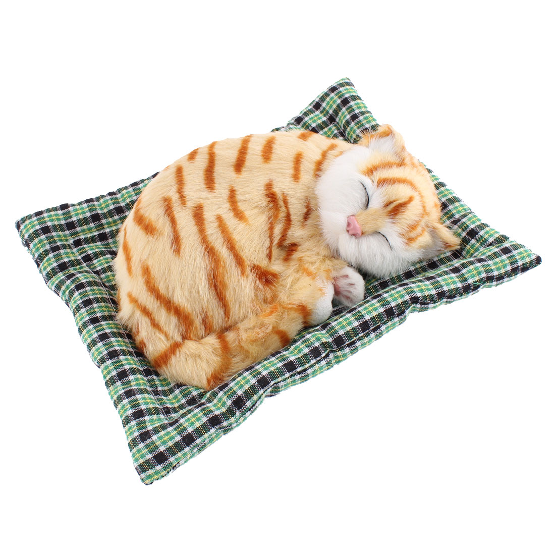 Home Simulation Sound Animal Sleeping Cat Craft Decoration
