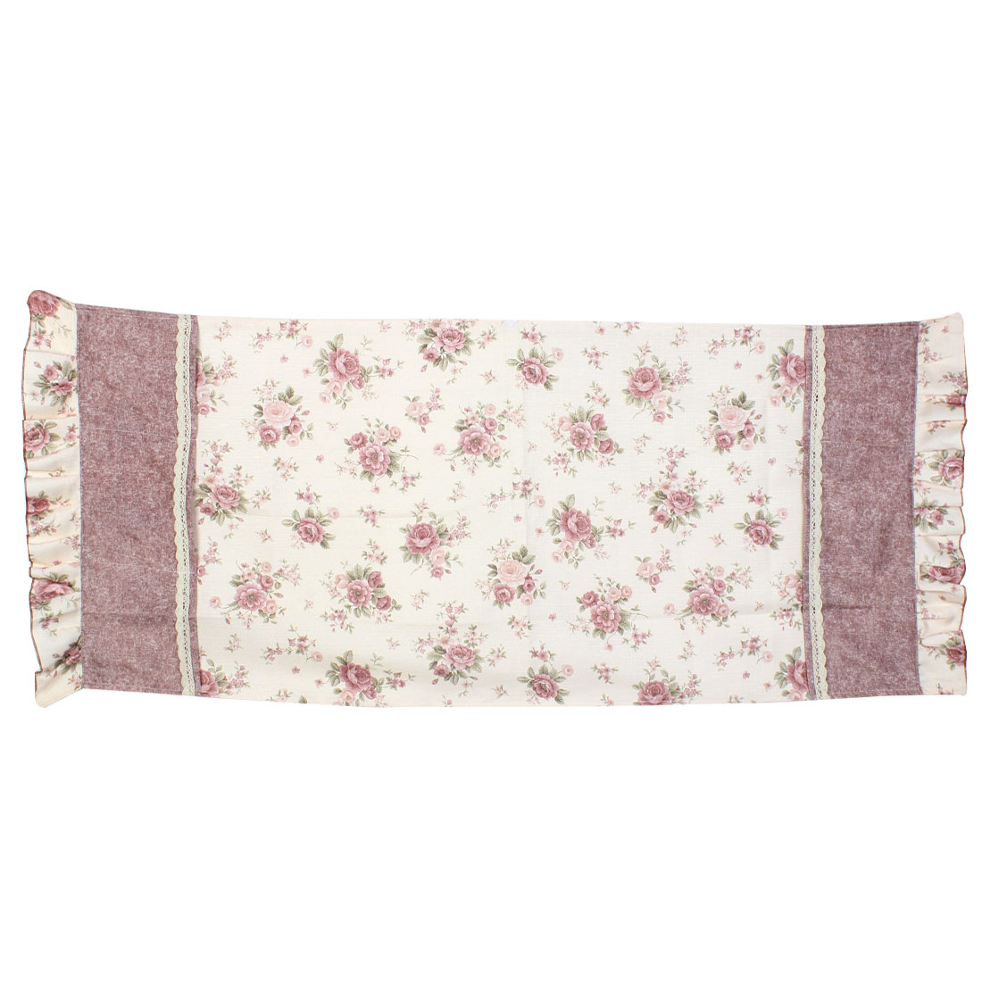 Refrigerator Flower Printed Dust Cover Storage Bag 60 x 140cm
