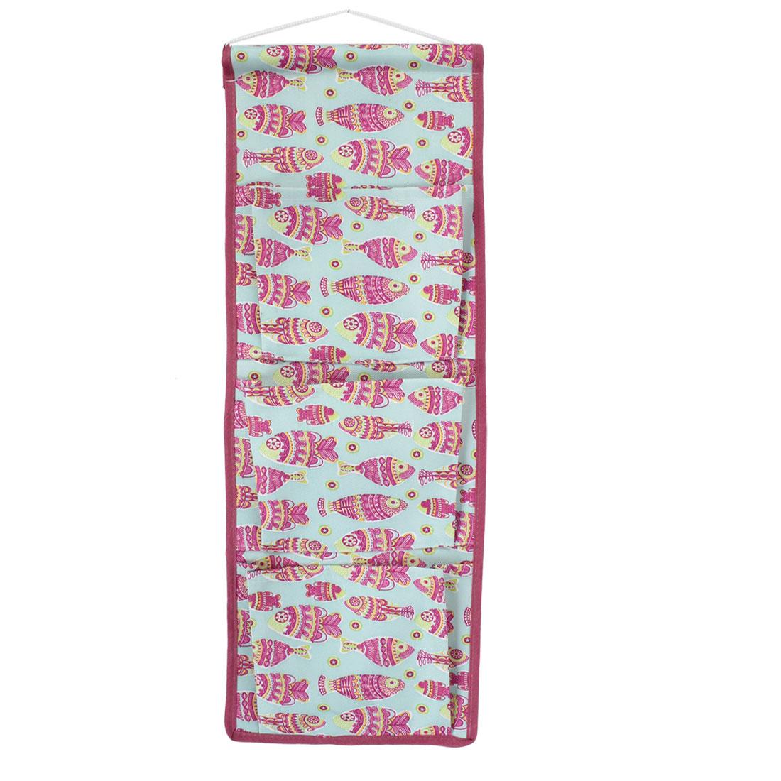 Wall Door Closet 3 Pockets Hanging Storage Bag Case