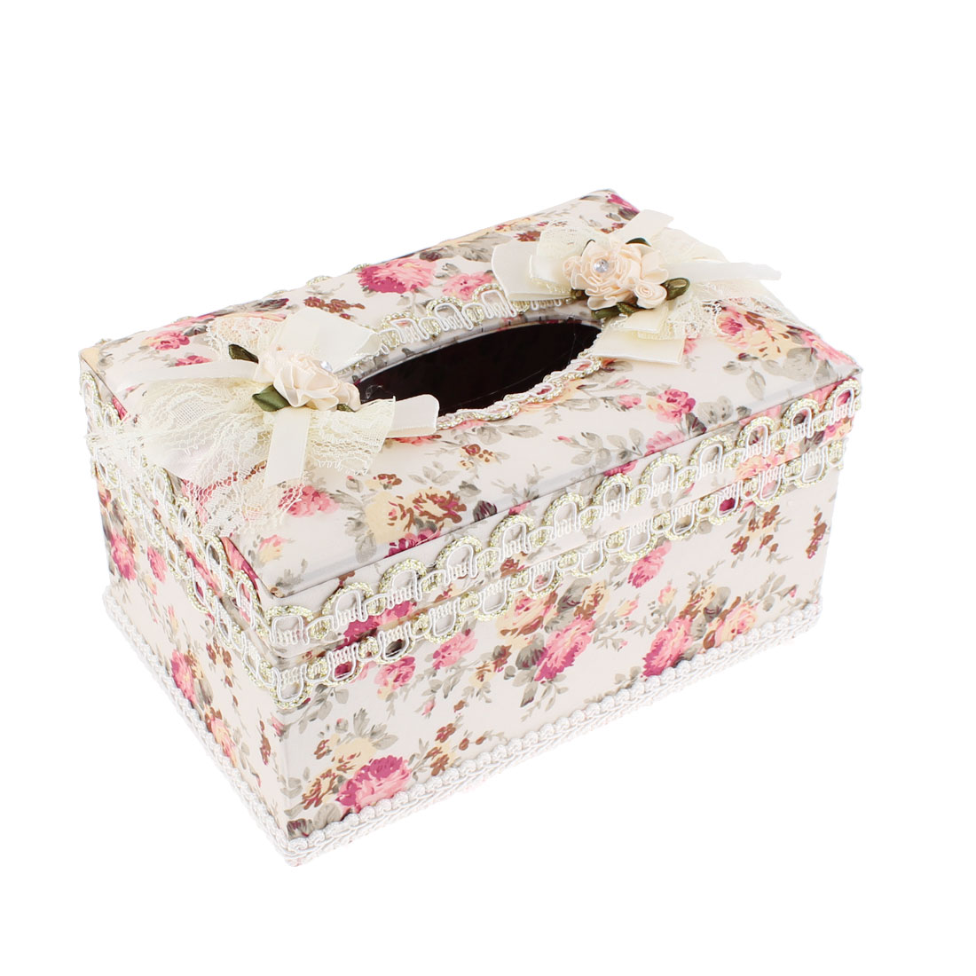 Home Office Rectangular Shaped Tissue Case Box