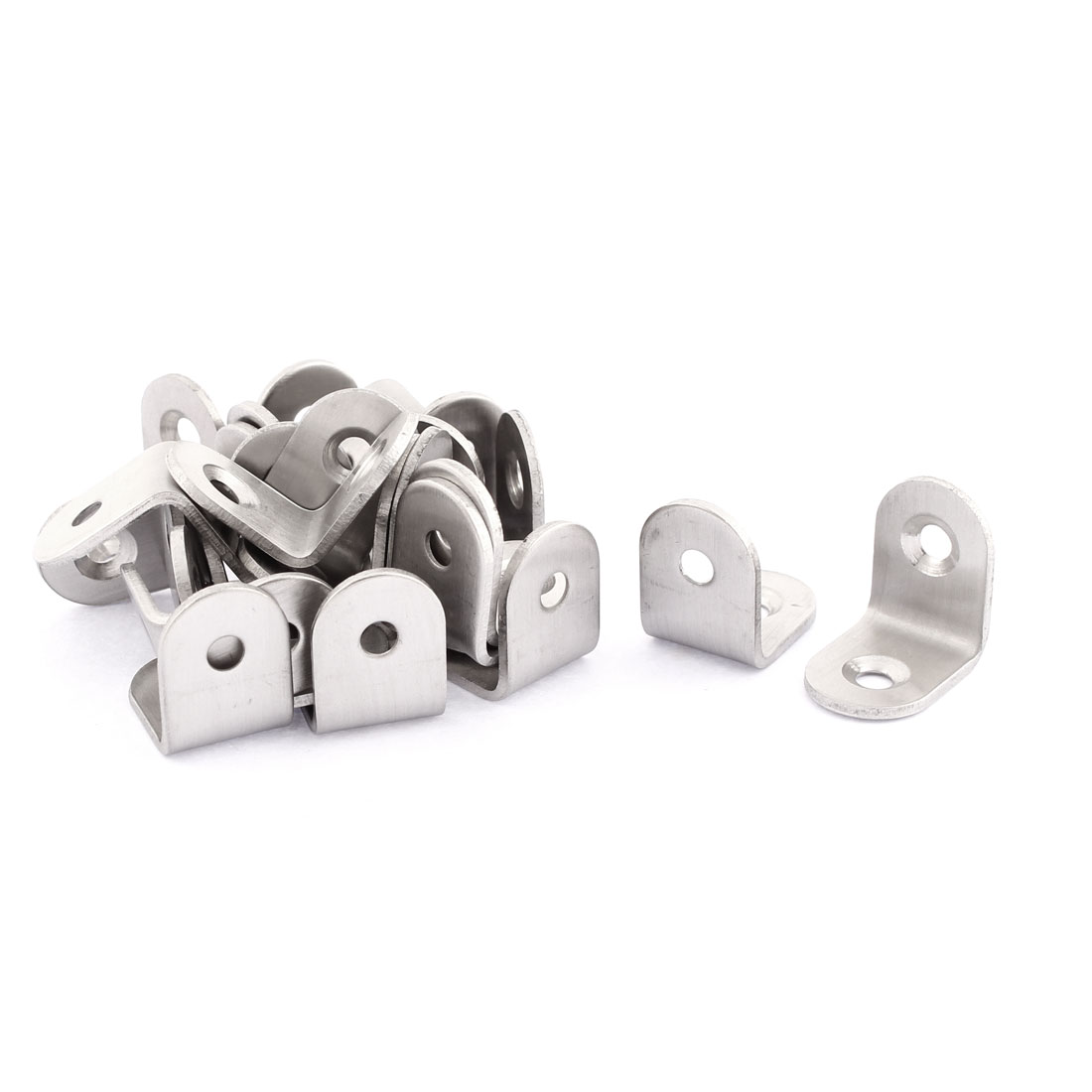 Stainless Steel 90 Degree Angle Bracket 20 x 20mm 25PCS