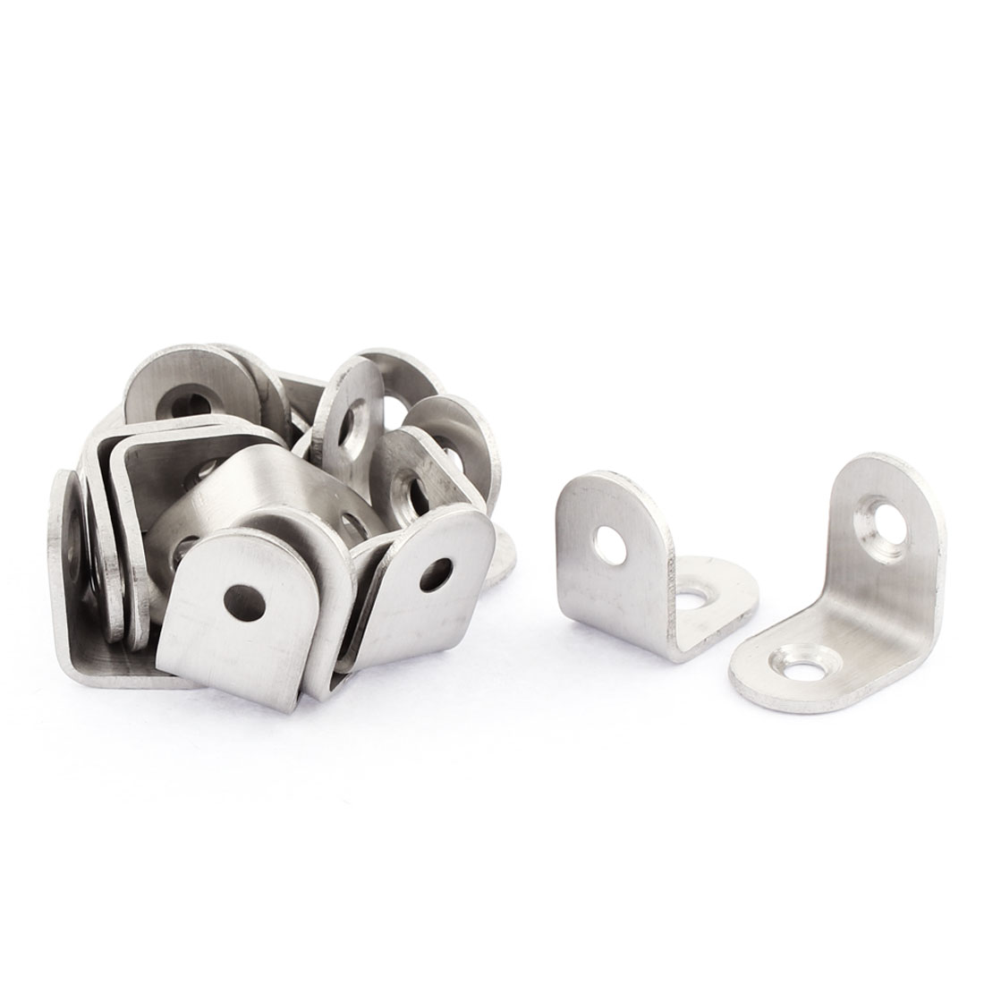 Stainless Steel Corner Brace Joint Right Angle Bracket Fastener 20 x 20mm 20pcs