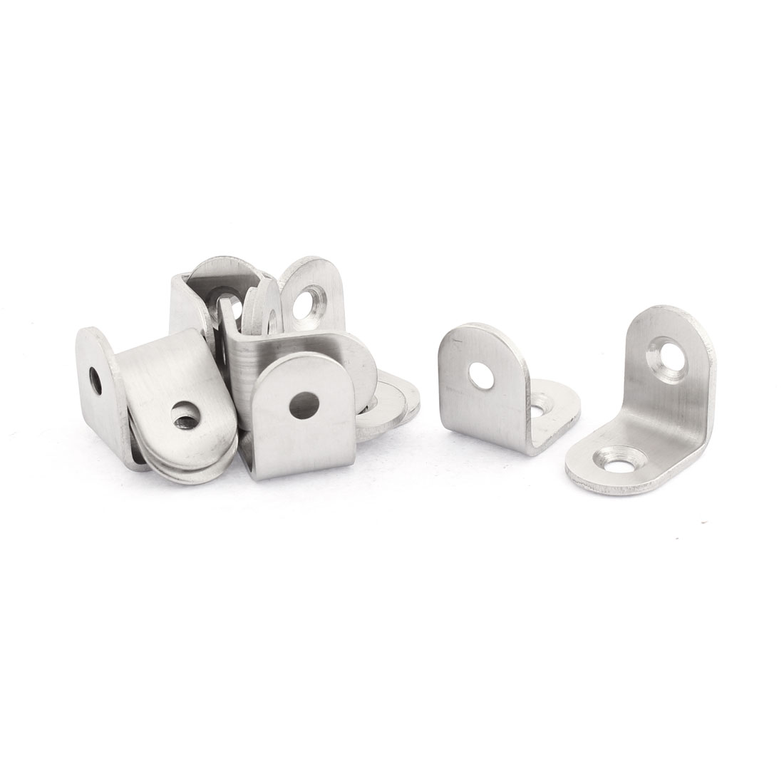 Stainless Steel Right Angle Corner Bracket 20 x 20mm 12pcs