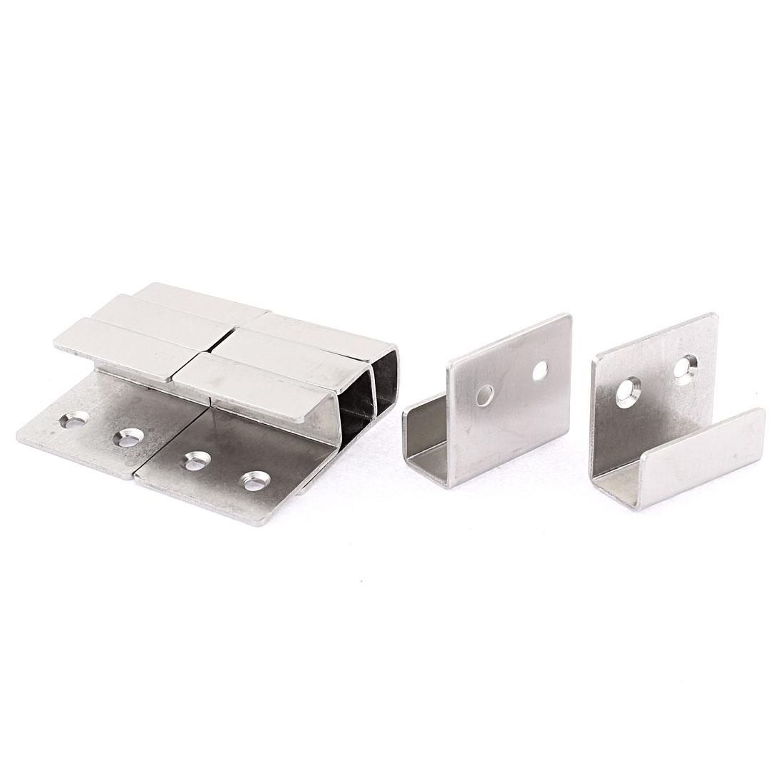 Stainless Steel Wall Bracket Hook Hanger 8pcs for Ceramic Tile Display