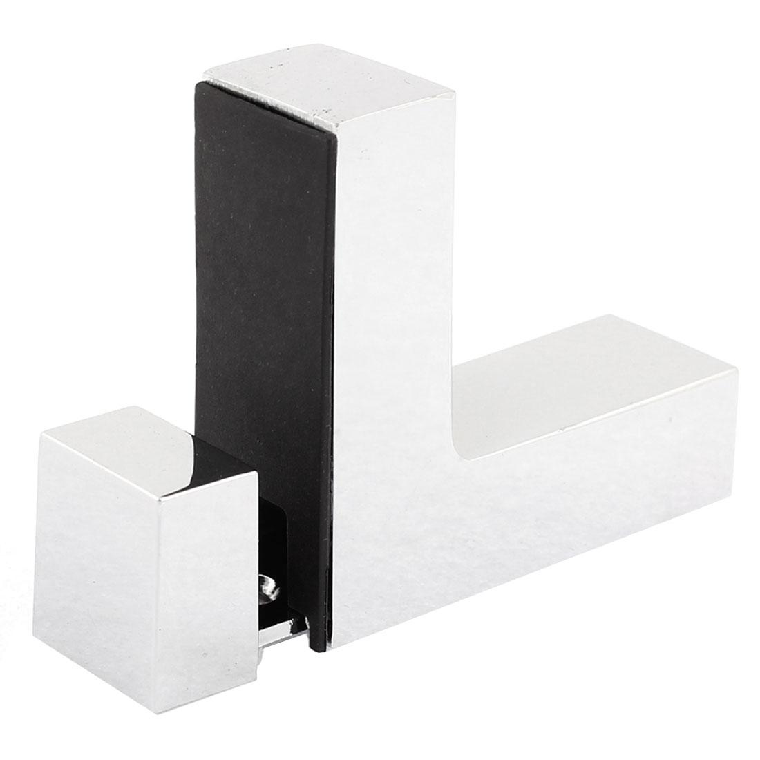 L Shaped Adjustable Glass Clip Clamp Bracket