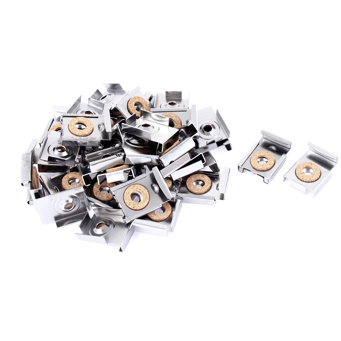 Square Shaped Adjustable Wall Hanging Mount Mirror Clip 40pcs