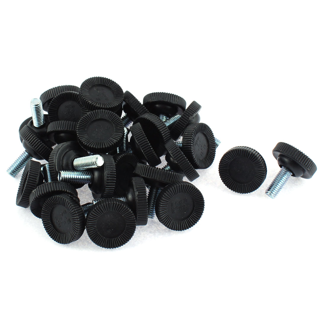 Adjustable Leveling Feet Foot Mounts Pads M8 x 19mm Thread 30pcs