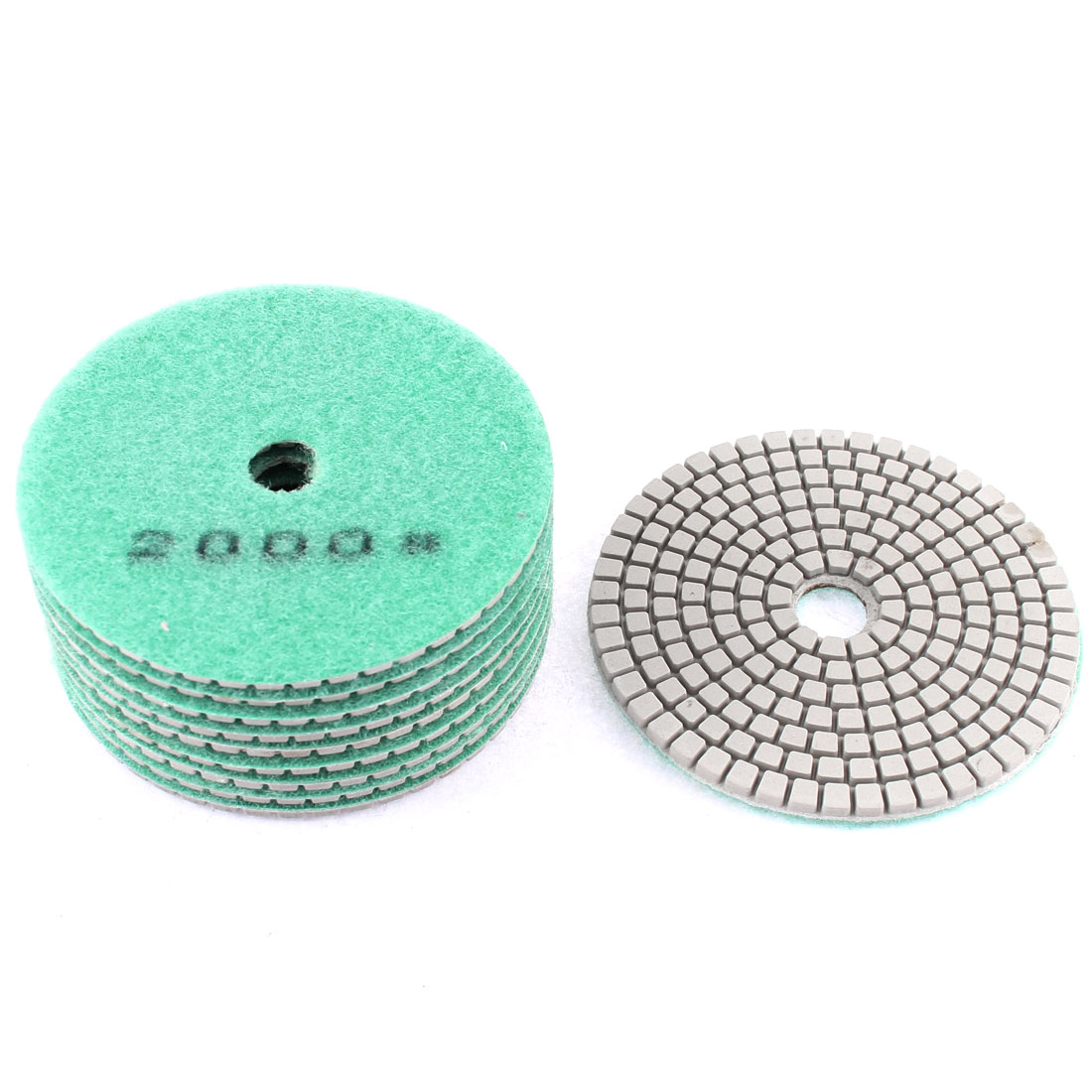 "Granite Stone Concrete Marble Diamond Polishing Pads 4"" Dia 10pcs"