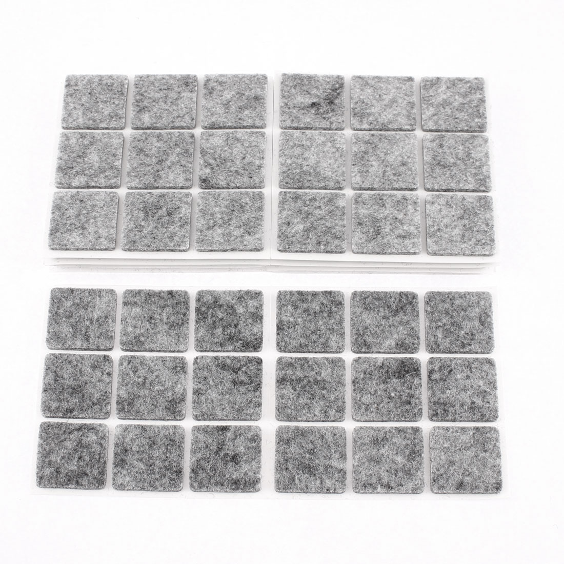 Furniture Feet Non Slide Self Adhesive Felt Protector Pads Floor Care Mats 90 Pcs