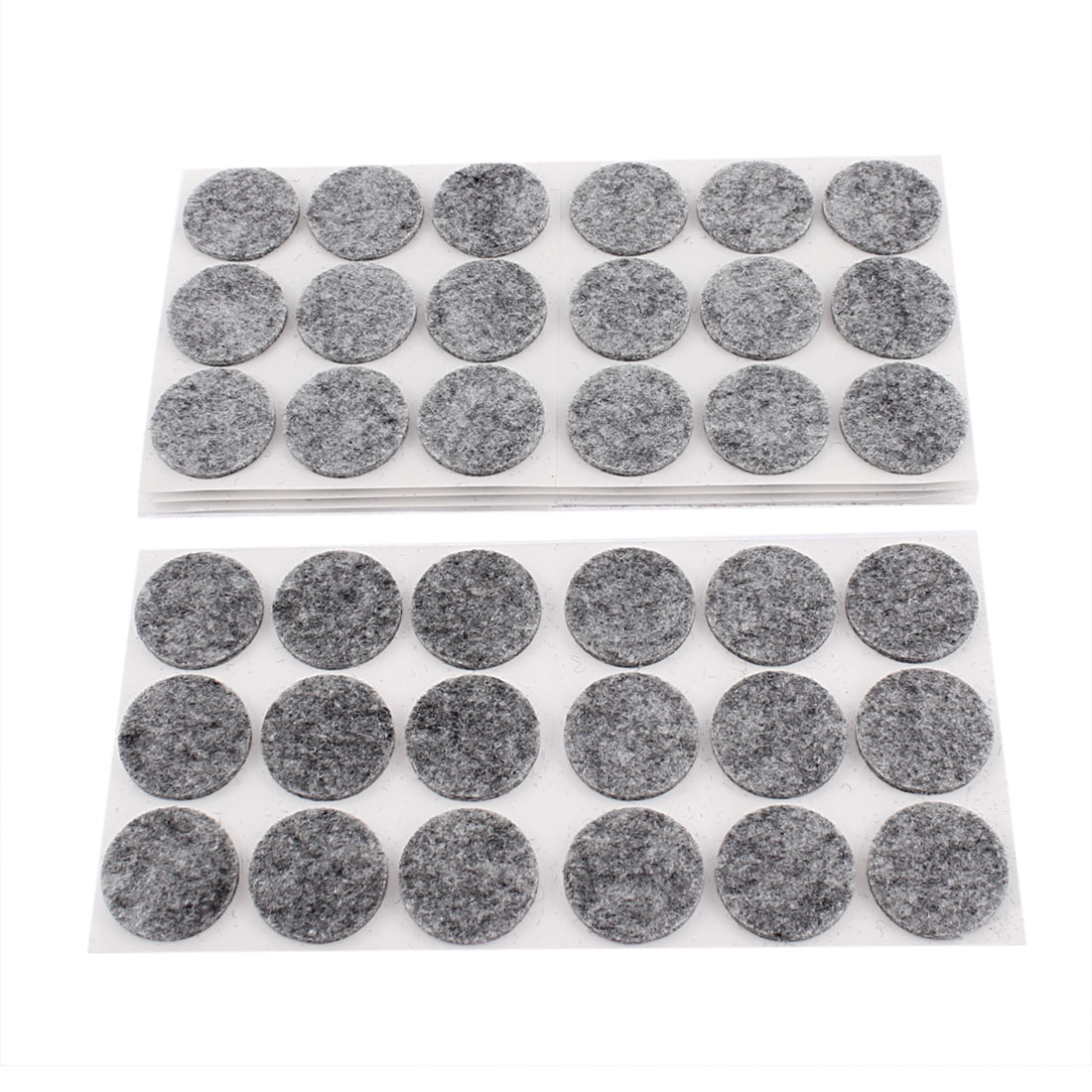 Furniture Felt Round Shaped Chair Sofa Table Legs Anti Skid Floor Protectors Pads 90 Pcs