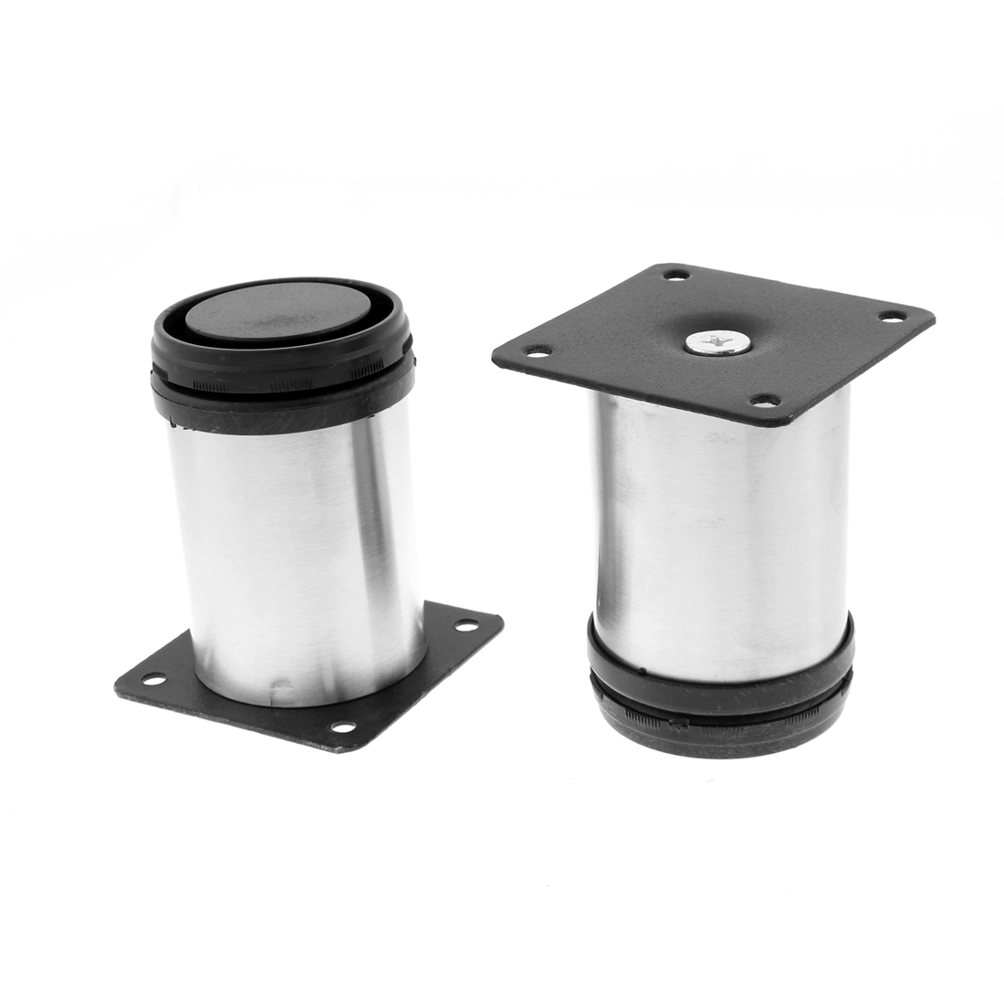 Furniture Kitchen Cabinet Adjustable Plinth Leg Stand Feet 50 x 80mm 10pcs