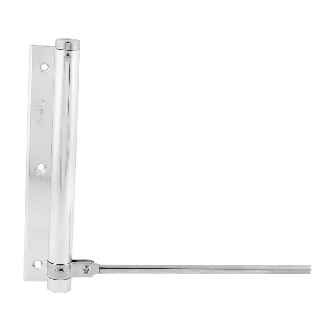 Home Office Automatic Metal Door Closers Hardware Silver Tone 18mm x 185mm