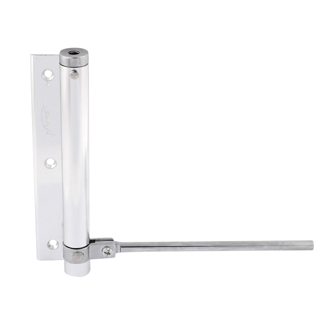 60mm x 60mm Automatic Metal Door Closers Hardware Silver Tone 155mm Long