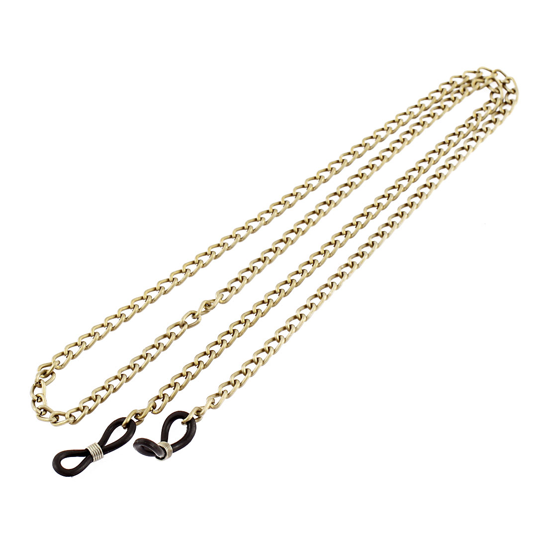 Eyeglasses Sunglasses Metal Chain Neck Cord Strap Glasses Retainer Bronze Tone