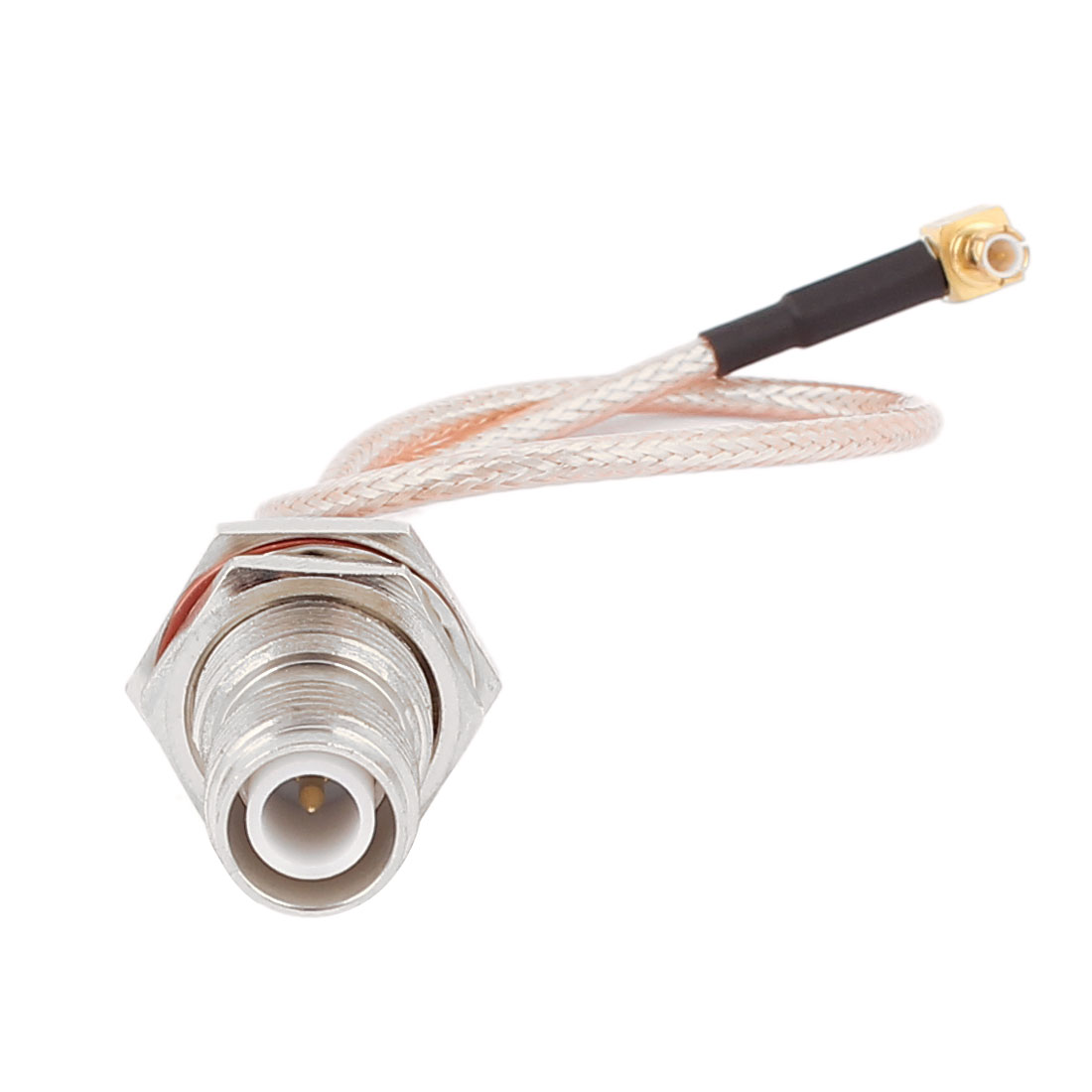 RP-TNC-KY Male to MCX-JW Male RG316 Coaxial Cable Pigtail 20cm