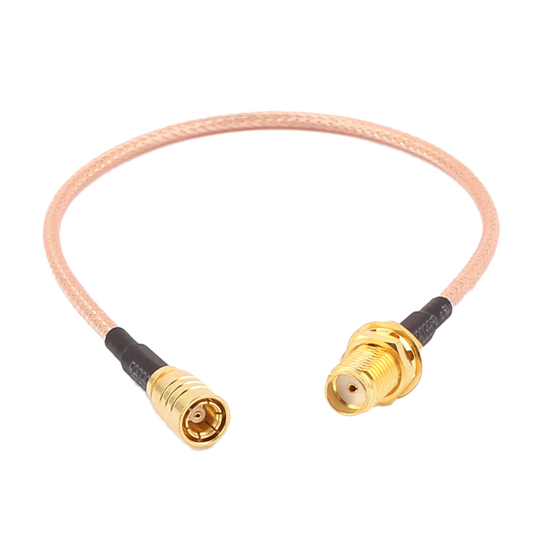 SMB-TK Female to SMA-KY Female RG316 Coaxial Cable Pigtail 20cm
