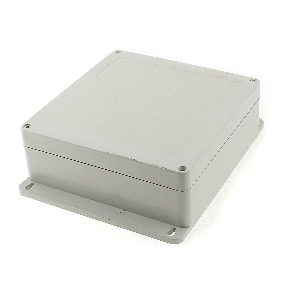 190mm x 180mm x 70mm Plastic Outdoor Electrical Enclosure Junction Box Case Gray