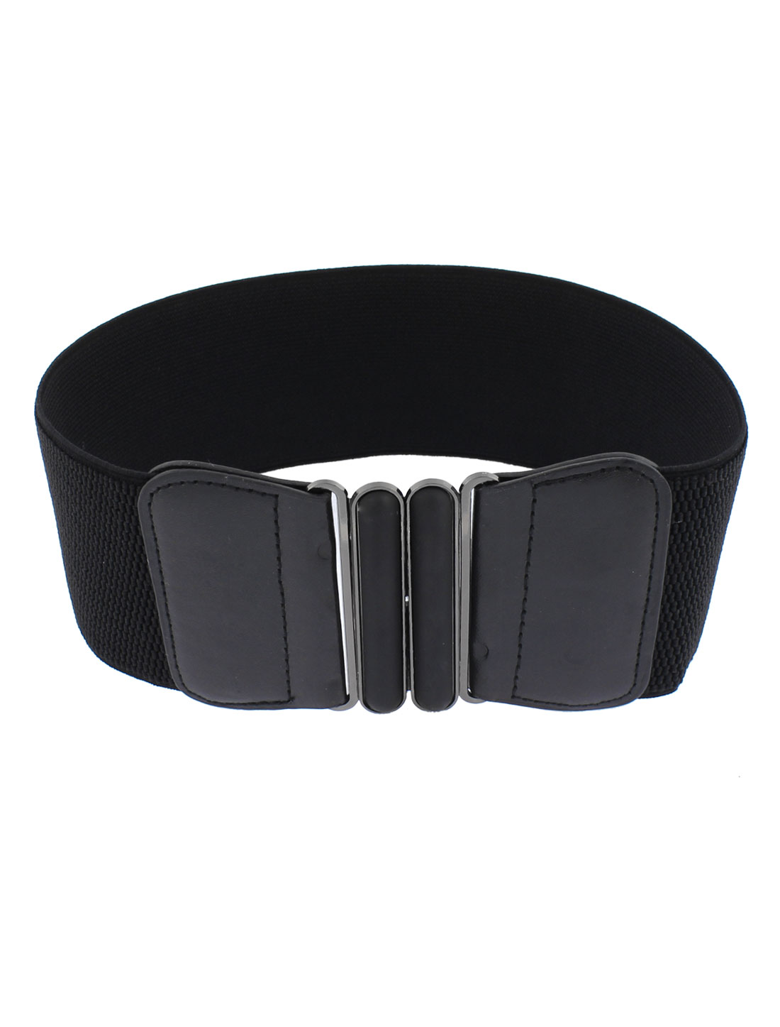 Women Elastic Waist Band Corset Belt Waistband 3 Inch Wide