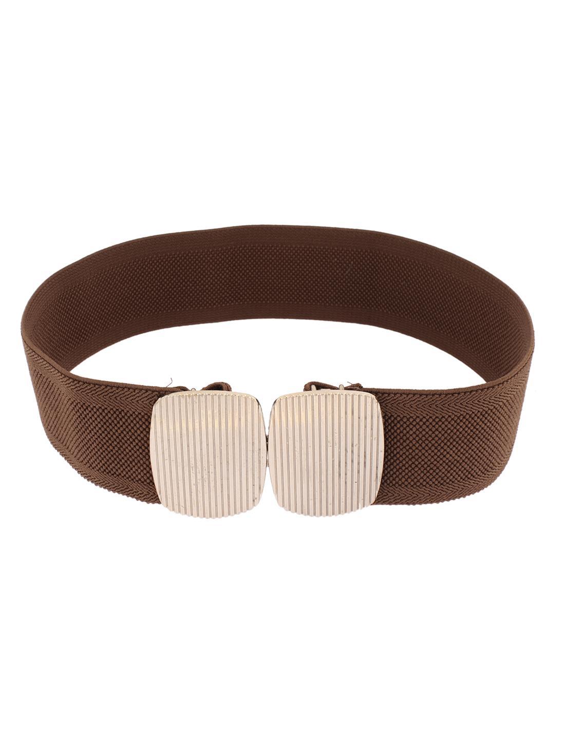 Women Lady Faux Leather Waistband Waist Belt Strap