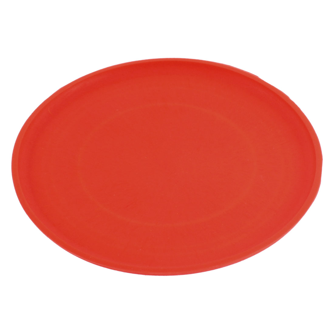 Pet Dog Puppy Training Flying Saucer Frisbee Toy Dish Plate Red