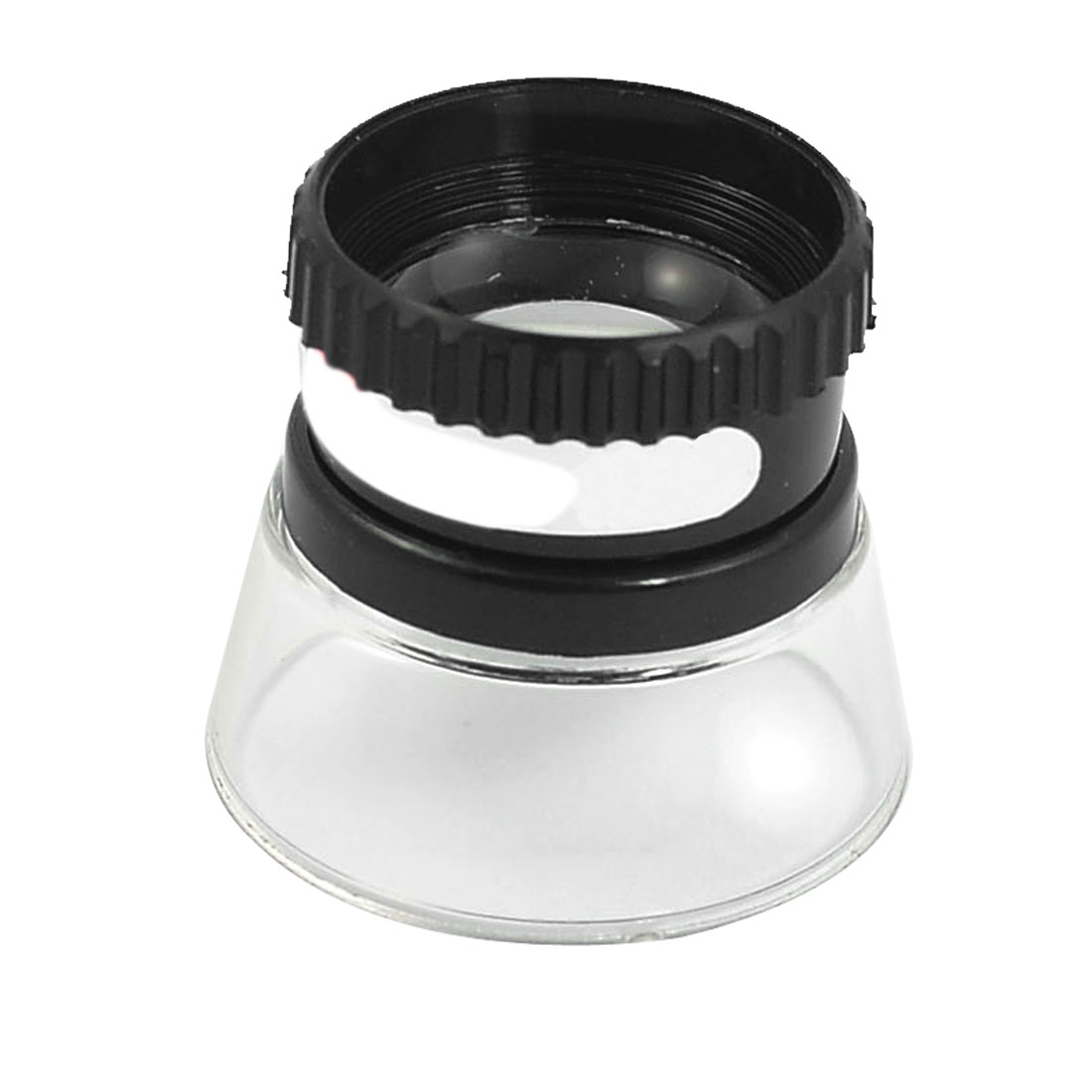 Plastic Shell 20mm Dia Lens 5X Magnifying Glass Photograph Pocket Magnifier