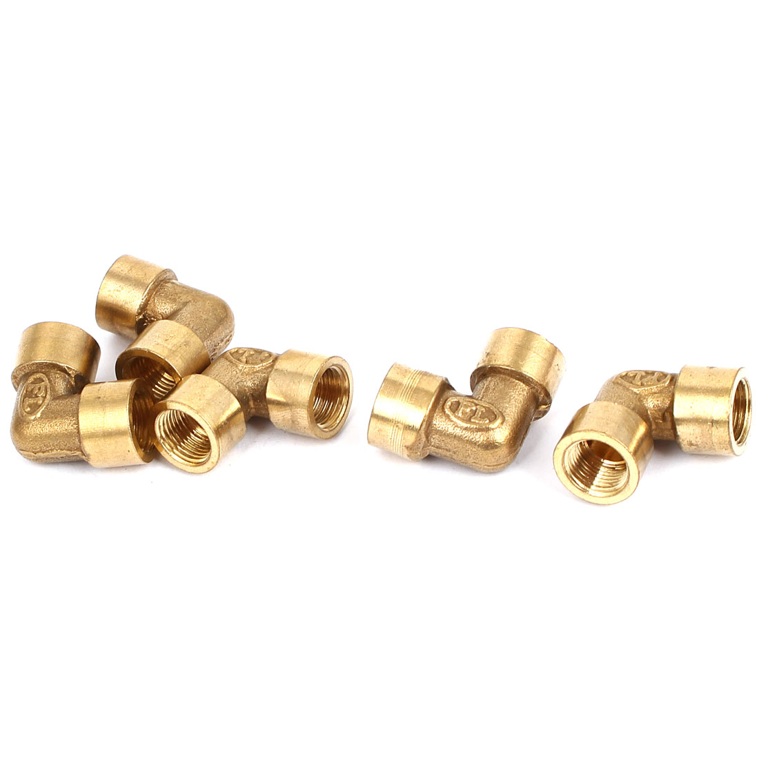 5 Pcs Water Hose Pipe Tube Fitting Coupler Connector 1/8PT Female Thread