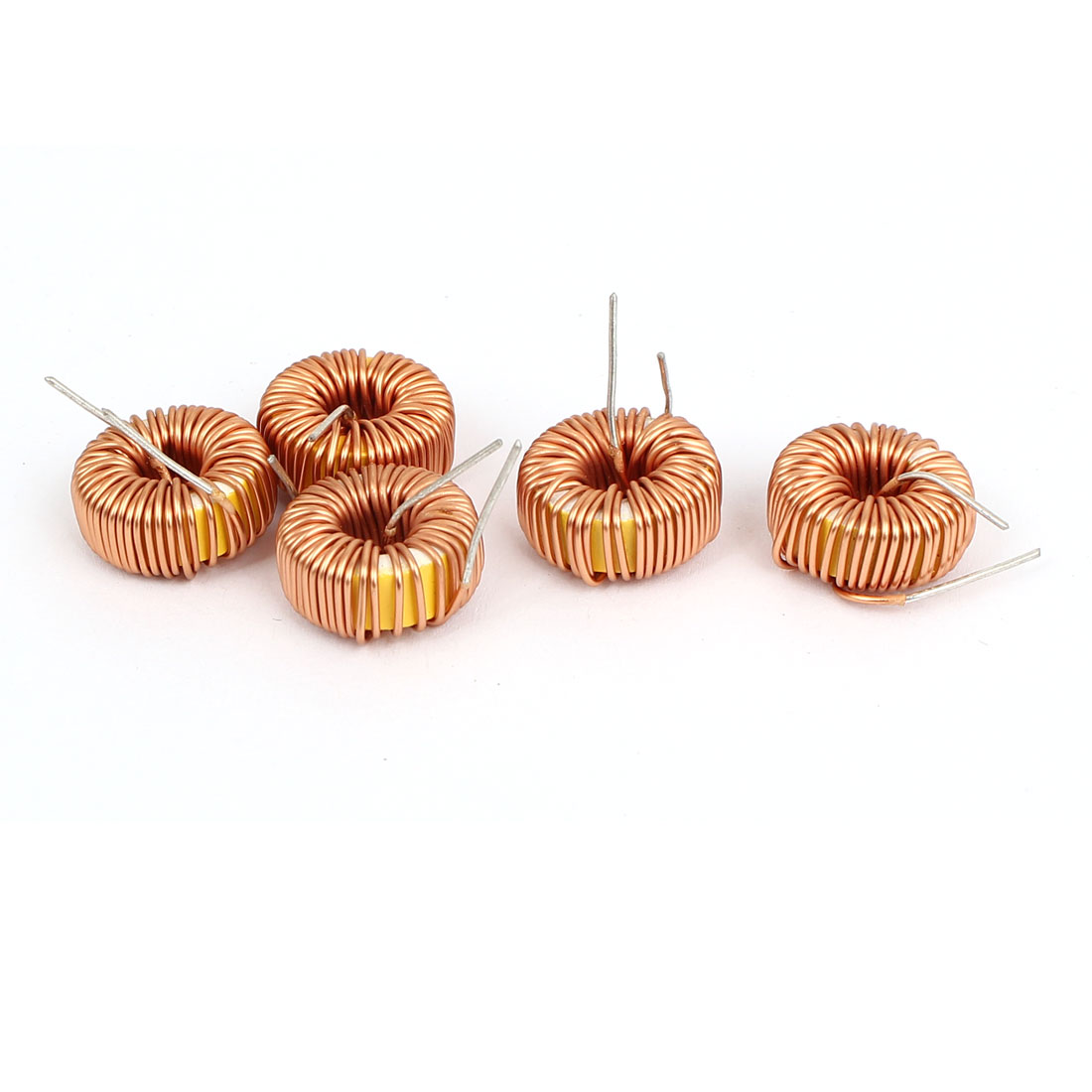 100 UH 15mm x 6mm Rated Current 3A Ring Winding Inductors 5 Pcs