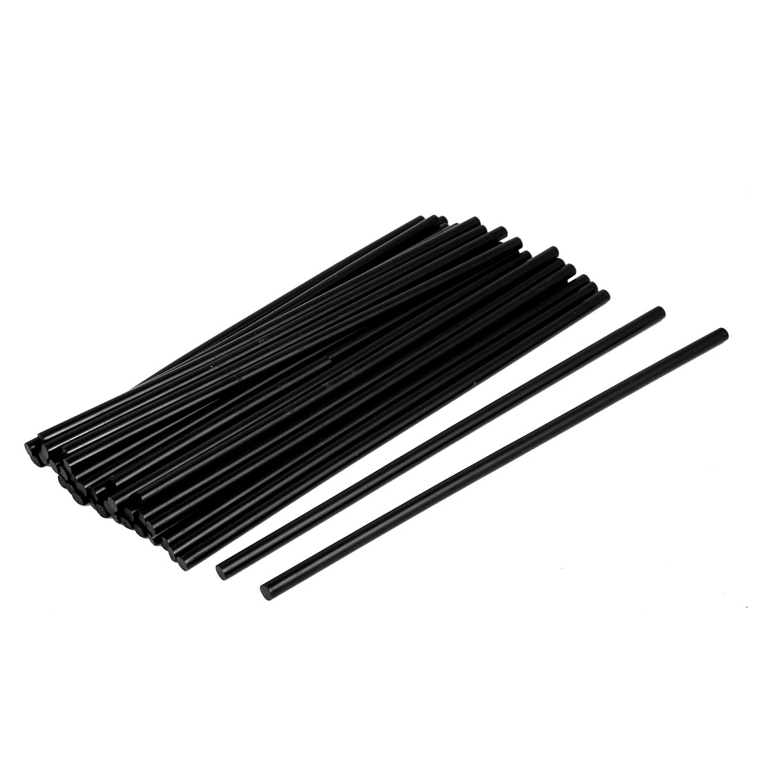 35 Pcs Environmental Glue Gun Sticks Hot Melt Translucency Black 7*270mm