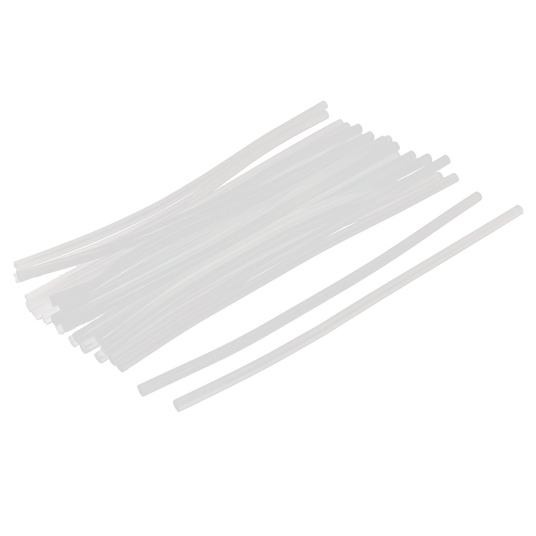 24 Pcs Clear White Hot Melt EVA Glue Adhesive Sticks 7x270mm