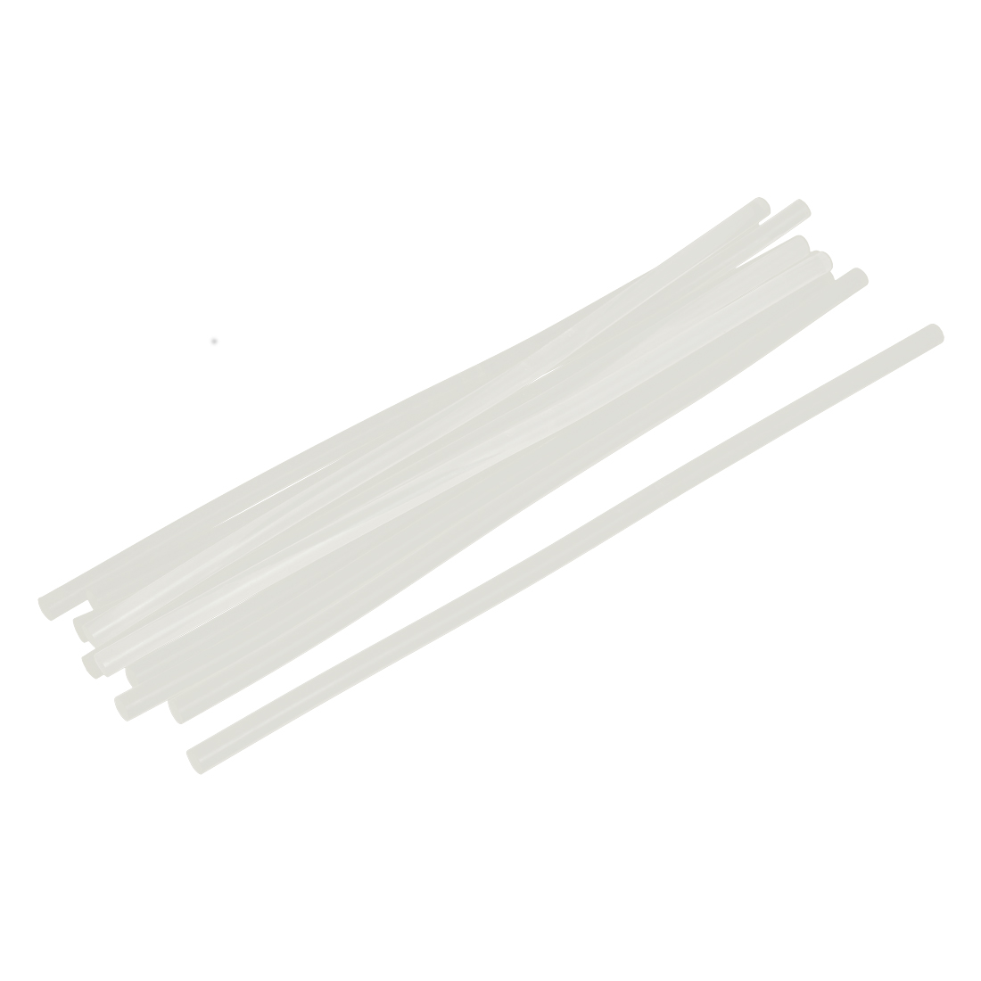 10 Pcs Clear White Hot Melt EVA Glue Adhesive Sticks 7x270mm